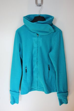 Türkisene Bench-Fleece-Jacke