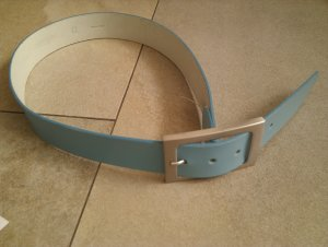 Esprit Leather Belt turquoise leather