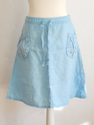 H&M Jupe cargo turquoise coton