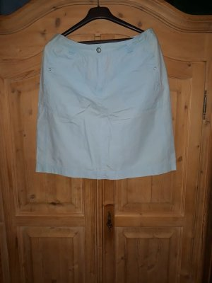 Authentic Miniskirt turquoise cotton