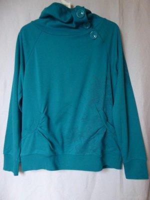 Takko Turtleneck Sweater cadet blue-turquoise