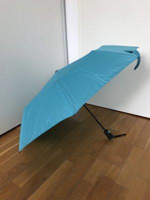 Parapluie pliant turquoise