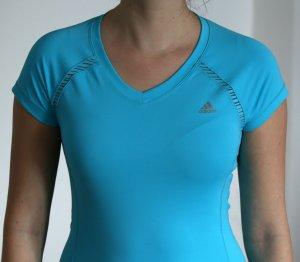 Türkises Adidas Sport T-Shirt Climalite, NEU, XS nicht getragen