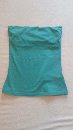 H&M Haut bandeau bleu clair