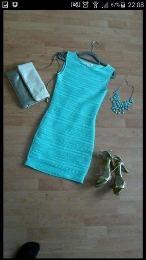 Türkises Bodyfit Kleid