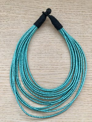 Collier Necklace black-turquoise