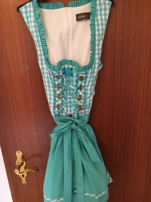 Türkises Minidirndl top