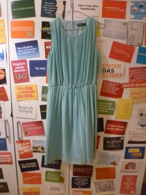 Atmosphere Mini vestido turquesa-azul bebé