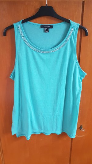 Atmosphere Spaghetti Strap Top turquoise