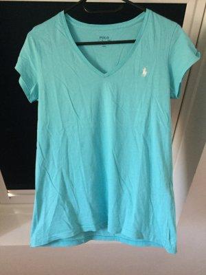 Polo Ralph Lauren V-Neck Shirt light blue
