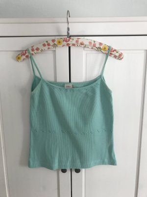 InWear A Line Top turquoise cotton