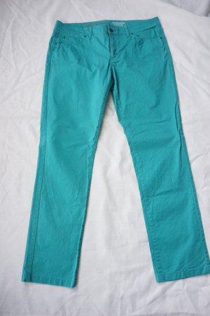 Türkisfarbene / helles petrol (Sommer-) Jeans von Esprit (42/L 32)