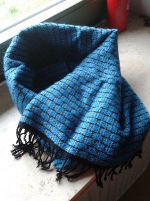 Bufanda azul-azul oscuro