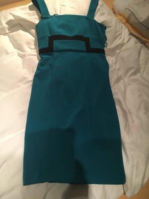 Türkisfarbenes Kleid von Diane von Fürstenberg