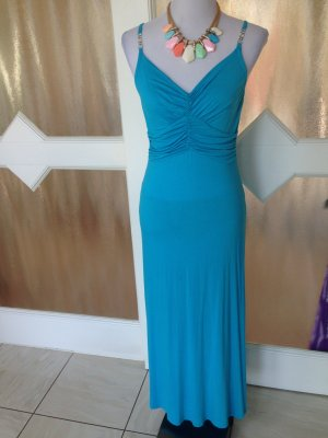 Türkisfarbenes langes Kleid