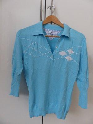 Tommy Hilfiger Golf Polo blanc-bleu clair