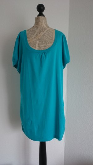 türkisfarbenes Shirt, Größe 46