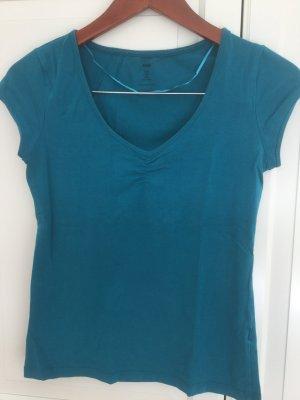 Türkisfarbenes Shirt von H&M