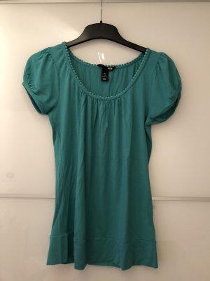 H&M T-shirt cadet blauw
