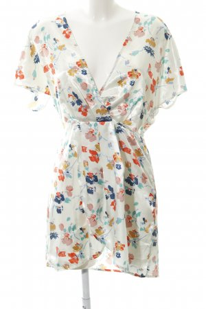 Tularosa Tunic Dress flower pattern casual look