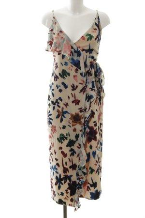 Tularosa Vestido cruzado estampado floral elegante