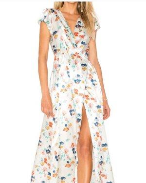 Tularosa Vestido cruzado estampado floral estilo romántico