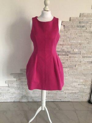 Zara Woman Robe à manches courtes rose