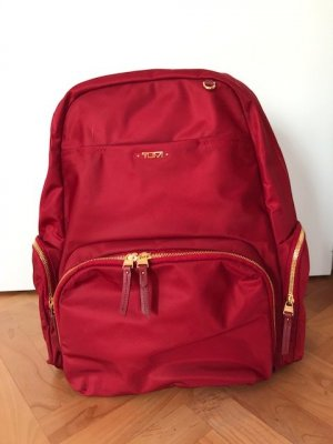 Tumi Funda para portátil color oro-rojo Nailon