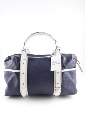 Tumi Carry Bag steel blue-white casual look