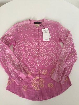 Tunik Bluse Antik Batik Pink Gr. 38 f 36 d gebatikt, neu mit Etikett supersüss Ibiza