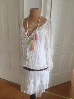 Hippie Dress natural white