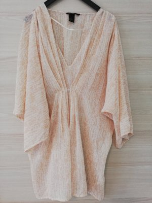 H&M Tunic cream-nude