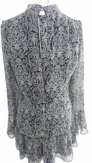 HM Tuniekjurk zwart-grijs Polyester