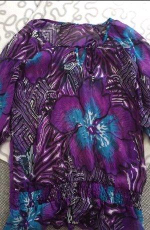 Blind Date Tunic dark violet