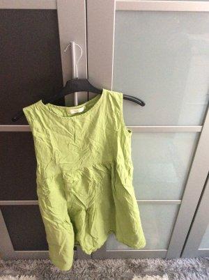 Tunic meadow green linen