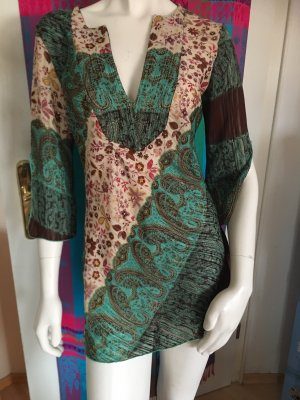 Closet Tunic Dress multicolored polyester
