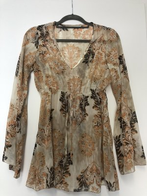 B.young Transparent Blouse multicolored
