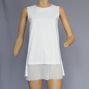 COS Tunic Blouse natural white cotton