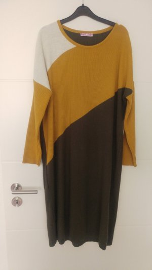 Tunic sand brown-dark green