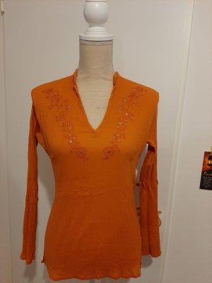 Tunic Blouse dark orange