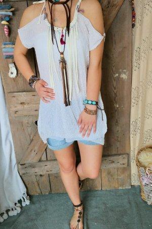 Abito hippie bianco