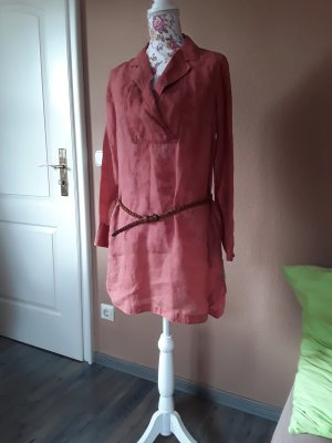 Robe tunique rouille