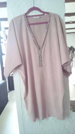 0039 Italy Tunic Blouse dusky pink