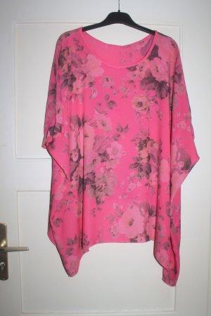 Tunique-blouse magenta