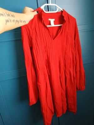H&M Túnica rojo oscuro