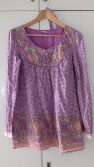 Tunika Bluse aus reiner Baumwolle