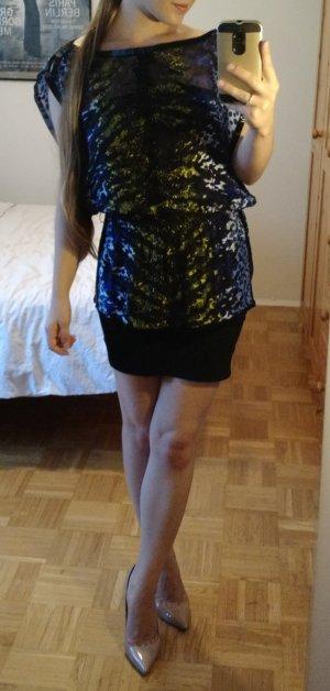 Tunika Bluse Bebe Gr. S 36 Seide silk oberteil Top luxus blogger feminin