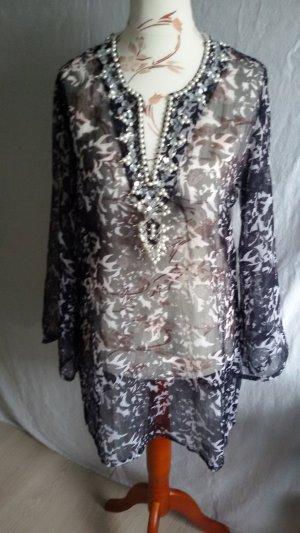 Heine Tunique-blouse multicolore polyester