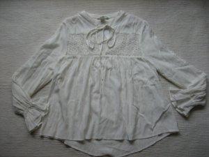 tunika bluse H&M neu, mit etiket weiss gr. s 36