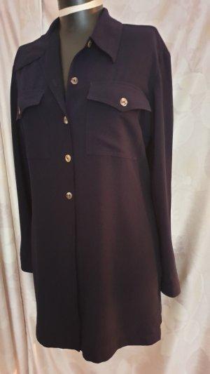 Wallis Blusa de túnica azul oscuro Poliéster